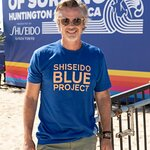 Stars Attend Shiseido Blue Project Beach Cleanup with World Surf League Pure and Wildcoast at U.S Open of Surfing