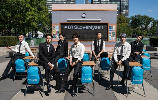 BTS mark the groundbreaking success of the LOVE MYSELF campaign