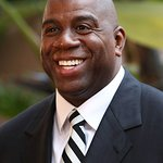 Magic Johnson And Jennifer Hudson Kick Off We Day In Seattle