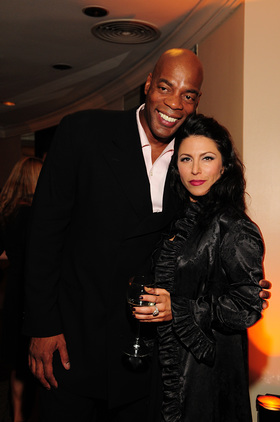 Rachel Zeskind and Alonzo Bodden at Hollywood NOTE Foundation's Gala