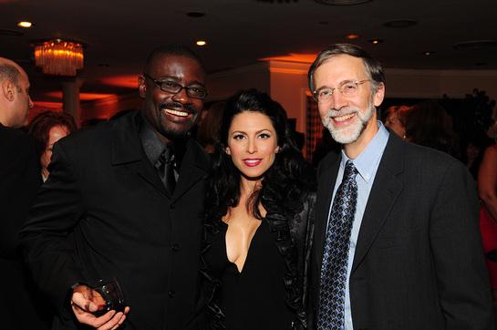 Zeskind with John Wineglass and Michael Piraino, Director of CASA