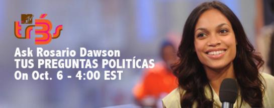 Ask Rosario Dawson