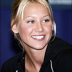Anna Kournikova Pulls On Her Running Shoes For Charity