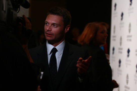 Ryan Seacrest at 2008 Fulfillment Fund Gala