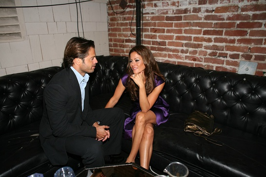 Brooke Burke Rocks the Vote