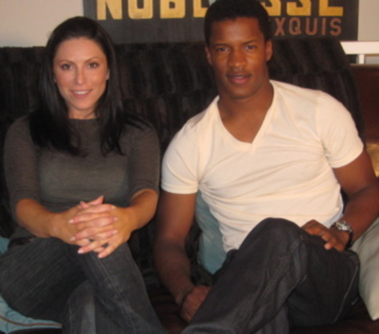 Nate Parker and Rachel Zeskind