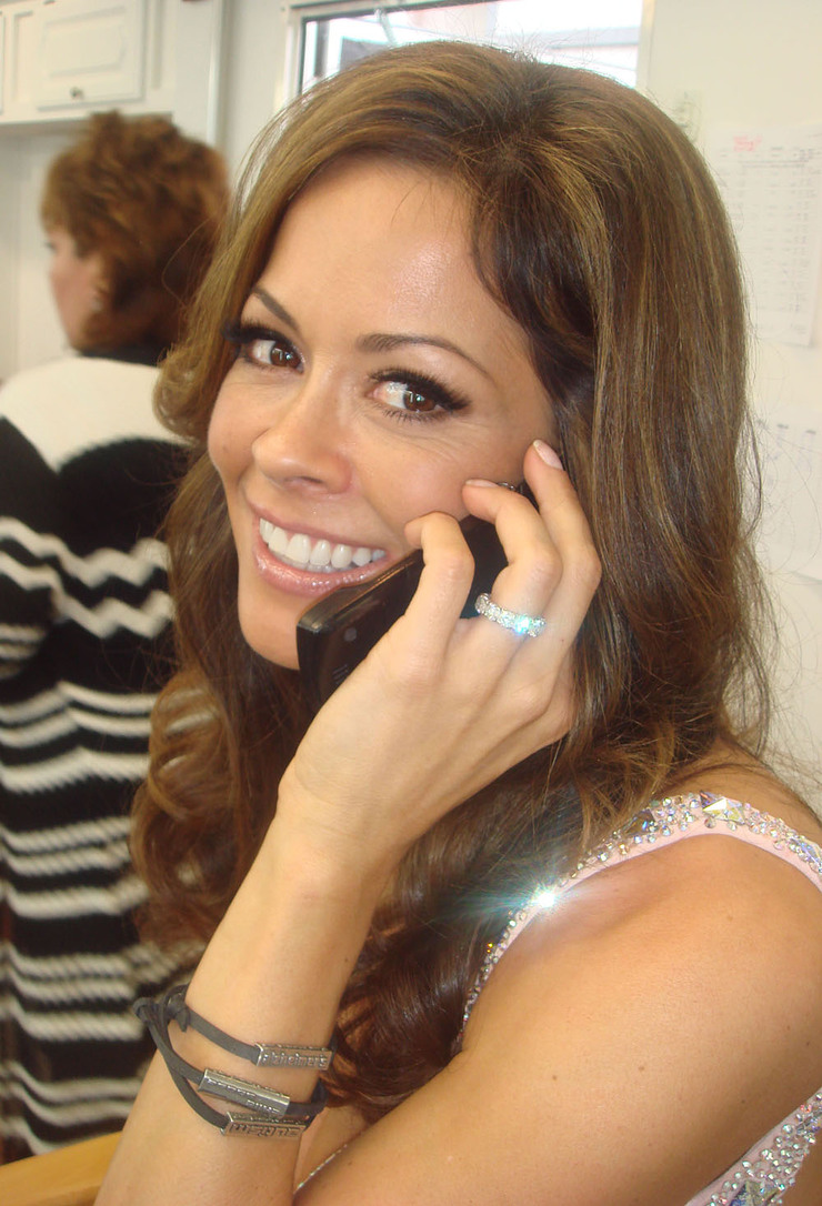 Brooke Burke Supports I'm Tired Of..