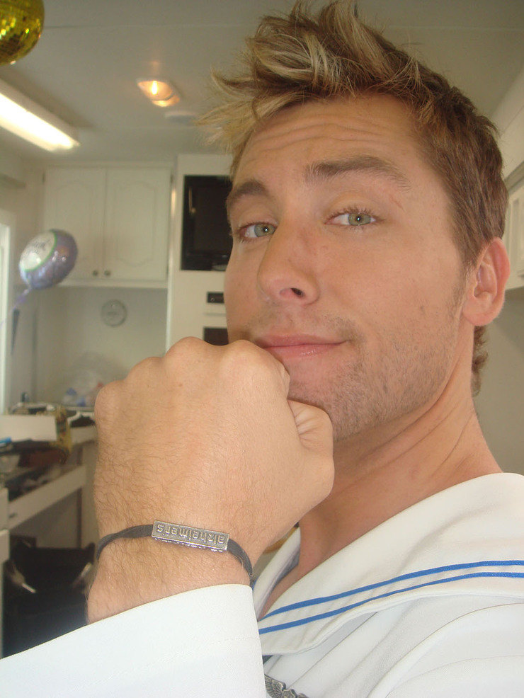 Lance Bass Supports I'm Tired Of...