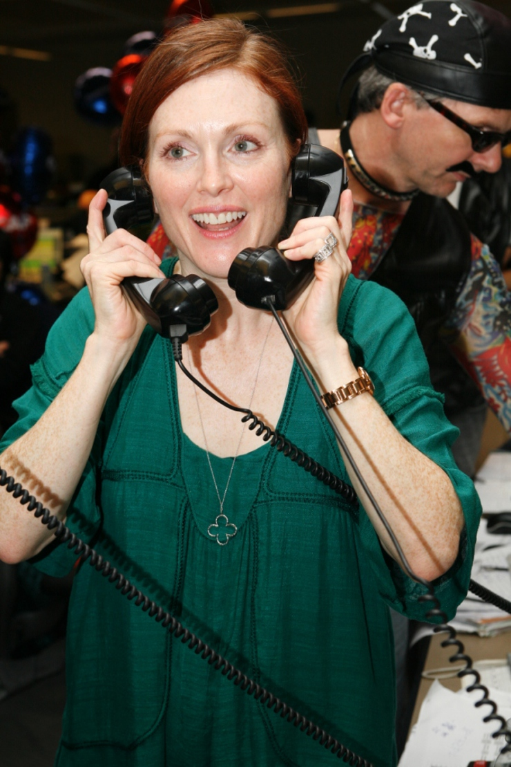 Julianne Moore at ICAP's Charity Day 2008