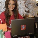 Danielle Lloyd Shops For A Good Cause