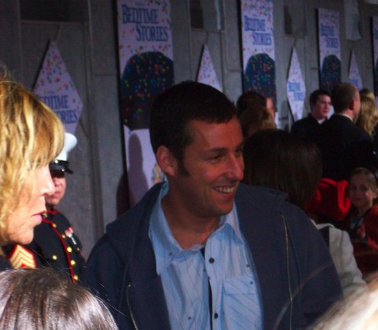 Adam Sandler Supports Toys for Tots