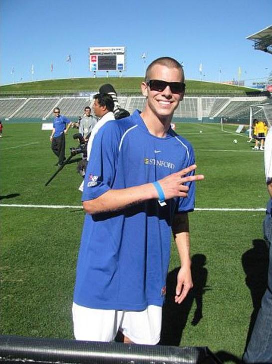 Ryan Sheckler at Mia Hamm Soccer 2009