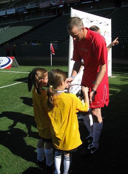 Tony Hawk at Mia Hamm Soccer 2009