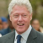 Bill Clinton Dedicates Anne Frank Tree Installation