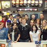 Kasey Kahne Helps Out Ronald McDonald House Charities