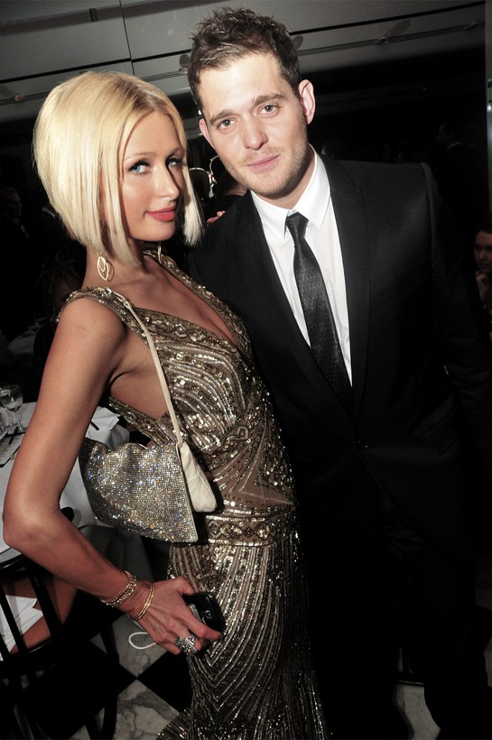 Paris Hilton and Michael Buble at A Night to Make a Difference