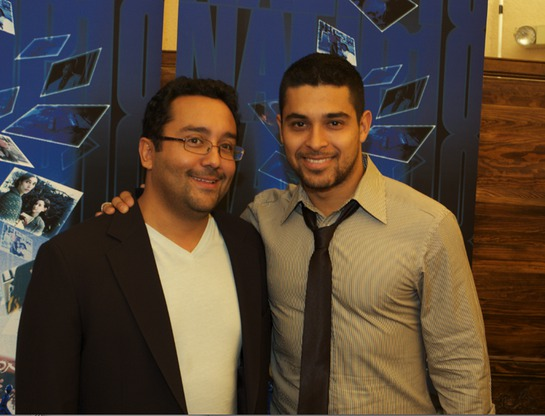 Wilmer Valderrama and David Ortiz at NALIP 2009