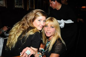 Taylor Hasselhoff and mother Pamela Bach