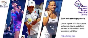 Starcards Tennis Auction for GOSH