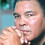Muhammad Ali Attends Celebrity Fight Night