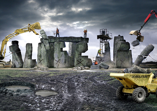 Stonehenge As It Might Be