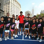 Tennis Pros Tutor Teens
