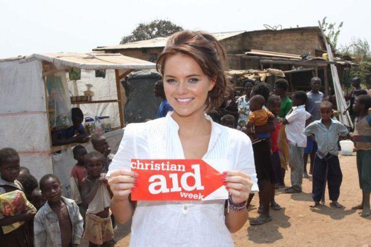 Kara Tointon Christian Aid