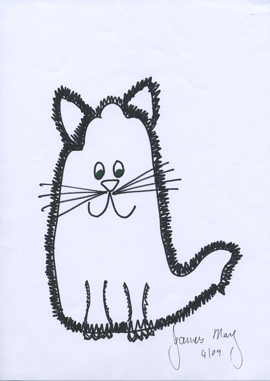 James May's Celebrity Paws Drawing