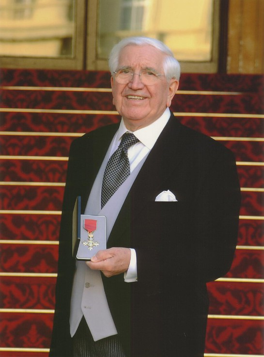 Jack Petchey With OBE