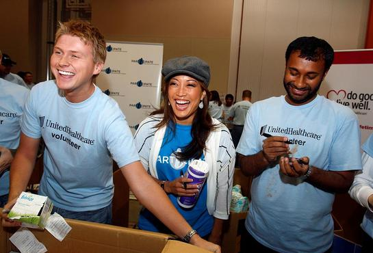 Carrie Ann Inaba At iParticipate Event