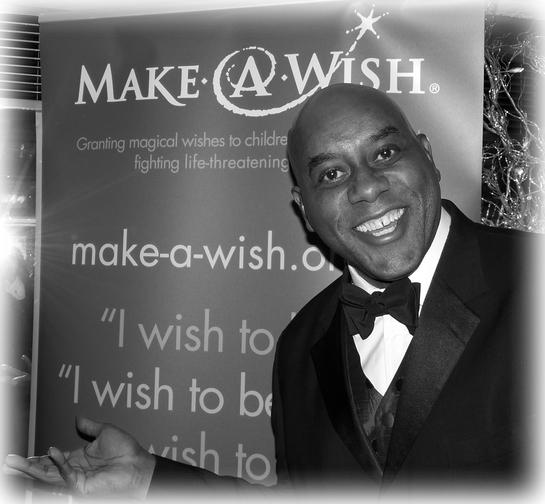 Ainsley Harriot At Make A Wish ball