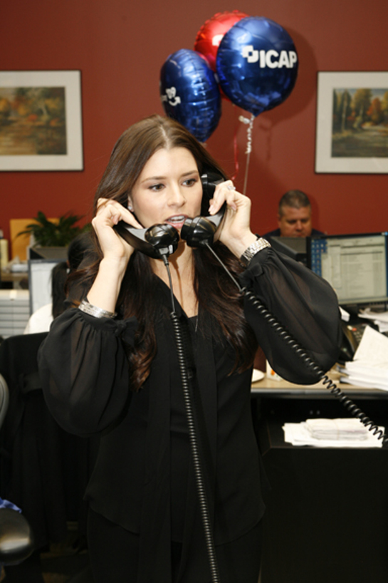 Danica Patrick at 2009 ICAP Charity Day