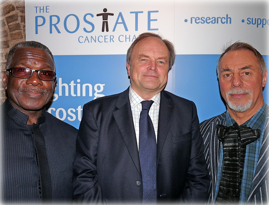 Clive Anderson, Prostate Cancer Charity Event