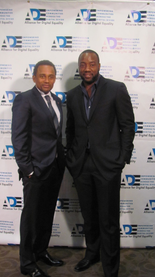 Hill Harper and Yoba