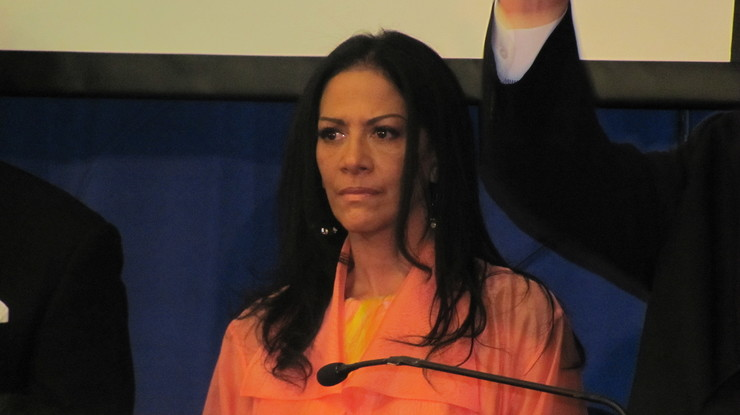 Sheila E at the Alliance for Digital Equality