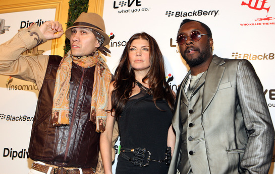 Black Eyed Peas at 1st annual Data Awards