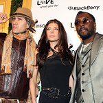 Black Eyed Peas Party With Celebrity Friends For Charity