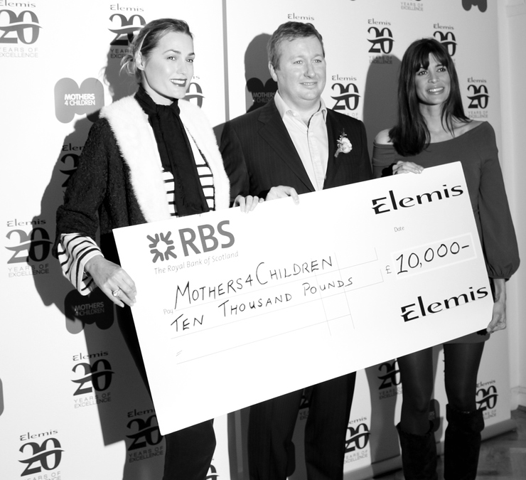 Yasmin Le Bon, Sean Harrington and Lisa B