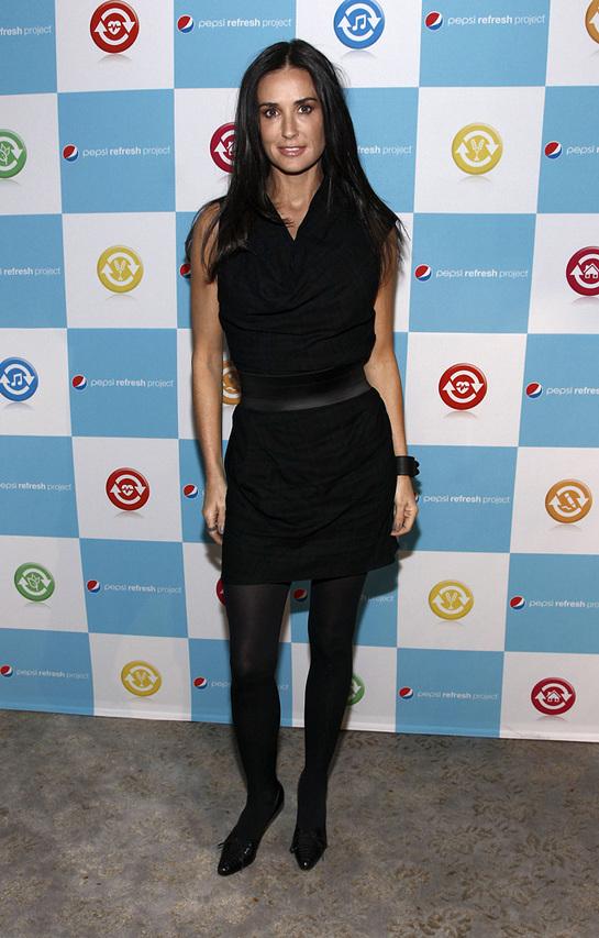 Pepsi Grant winner Demi Moore