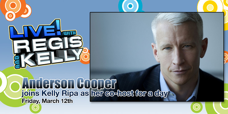 Anderson Cooper on Regis and Kelly