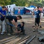 Sean Penn Busy In Haiti For Charity