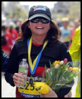 Valerie Bertinelli Runs Marathon For Charity