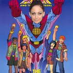 Nicole Richie Becomes Captain Planet For Earth Day