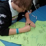 James Denton Joins Celebrities At Autism Charity Walk