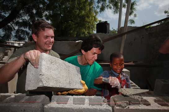 Mitch Albom Helps Out in Haiti