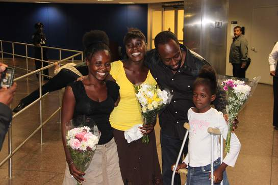 Wyclef Jean Welcomes Haitian Amputees To The US