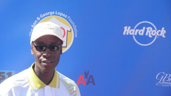 Don Cheadle at George Lopez Charity Golf