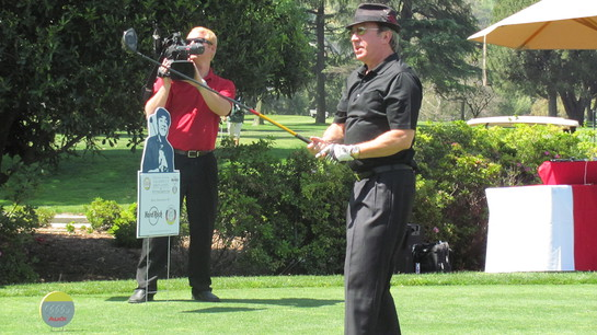 Tim Allen Tees Off at George Lopez Charity Golf