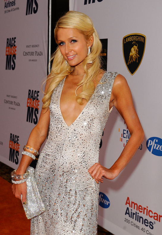 Paris Hilton at Race to Erase MS Event