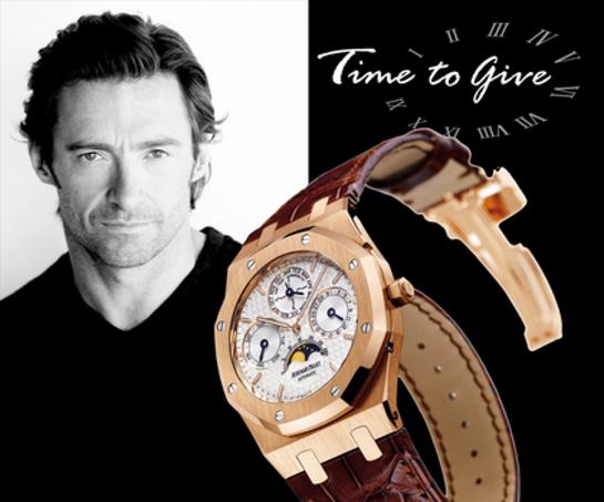 Hugh Jackman Signed Watch